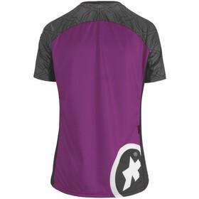 ASSOS Trail Jersey korte mouwen Dames, cactus purple